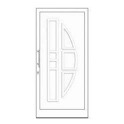uPVC entry doors | IsoStar Model 7110G | Entrance doors | Unilux