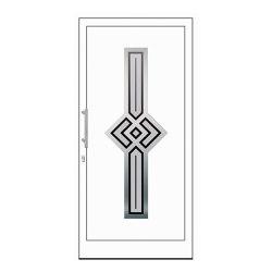 uPVC entry doors | IsoStar Model 7111 | Entrance doors | Unilux