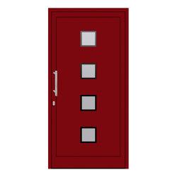 uPVC entry doors | IsoStar Model 7113 | Puertas de las casas | Unilux