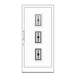 uPVC entry doors | IsoStar Model 7115 | Entrance doors | Unilux