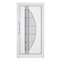uPVC entry doors | IsoStar Model 7117 | Entrance doors | Unilux