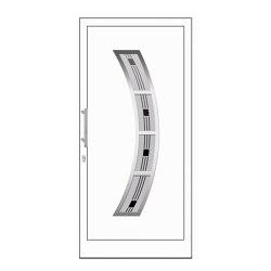 uPVC entry doors | IsoStar Model 7119 | Entrance doors | Unilux