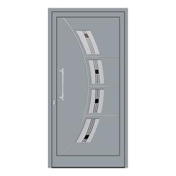 uPVC entry doors | IsoStar Model 7120 | Entrance doors | Unilux