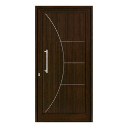 uPVC entry doors | IsoStar Model 7120G | Entrance doors | Unilux
