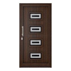 uPVC entry doors | IsoStar Model 7121 | Entrance doors | Unilux