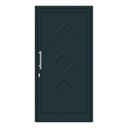 uPVC entry doors | IsoStar Model 7122 | Entrance doors | Unilux