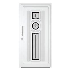 uPVC entry doors | IsoStar Model 7124 | Entrance doors | Unilux