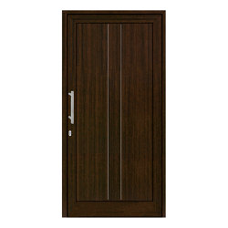 uPVC entry doors | IsoStar Model 7125G | Entrance doors | Unilux