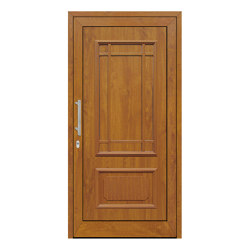 uPVC entry doors | IsoStar Model 7126G | Entrance doors | Unilux
