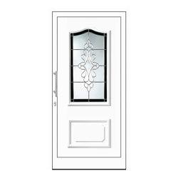uPVC entry doors | IsoStar Model 7130 | Entrance doors | Unilux