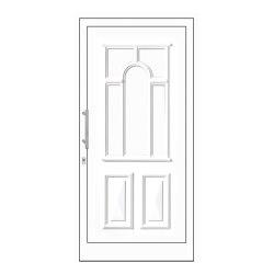 uPVC entry doors | IsoStar Model 7131G | Entrance doors | Unilux