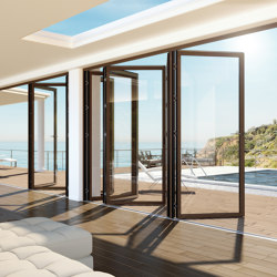 Sliding-folding system | Exterior | Patio doors | Unilux