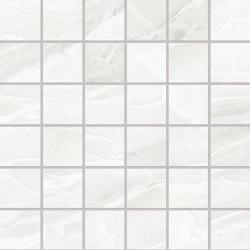 Tele di Marmo Selection White Paradise Mosaico 5x5 | Ceramic mosaics | EMILGROUP