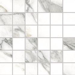 Tele di Marmo Selection Arabescato Corchia Mosaico 5x5 | Ceramic mosaics | EMILGROUP