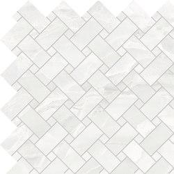 Tele di Marmo Selection White Paradise Intrecci   Ceramic mosaics   EMILGROUP