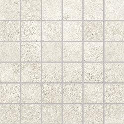Re-Play Concrete Mosaico 5x5 White   Mosaicos de cerámica   EMILGROUP