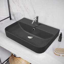 Oceanus Washbasin black | Wash basins | Nordholm