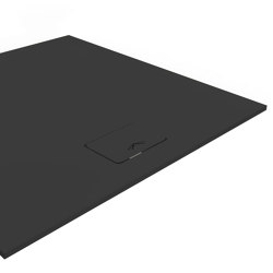 SlimLine black | Shower trays | Nordholm