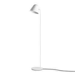 Tilt S Floor – all white | Lámparas de pie | Nyta
