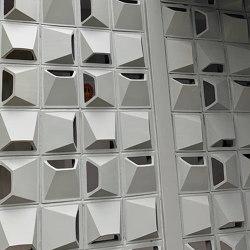 Breeze Block   White   Facade systems   Eso Surfaces
