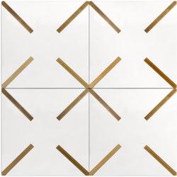 Brass Inlay Cement Tile   X   Beton Fliesen   Eso Surfaces