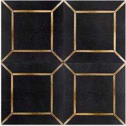 Brass Inlay Cement Tile   Beton Fliesen   Eso Surfaces