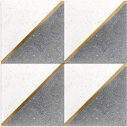 Brass Inlay Cement Tile | Beton Fliesen | Eso Surfaces