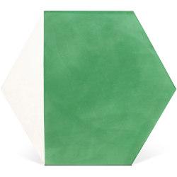 Decorative Cement Tile | Duo Hex | Concrete tiles | Eso Surfaces