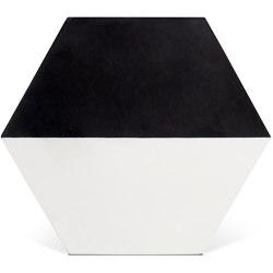 Decorative Cement Tile | Half Hex | Concrete tiles | Eso Surfaces