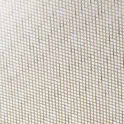 Glam Metallics | Damier_Gold | Decorative glass | S-Plasticon