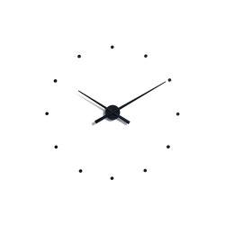 OJ Wall Clock Black   Clocks   Nomon