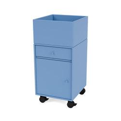Montana Selection | RUNNER – office unit on castors |Montana Furniture | Pedestals | Montana Furniture