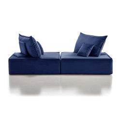 Madame Velvet blue | Canapés | Filippo Ghezzani