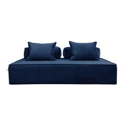 Monsieur in Velvet blue | Sofas | Filippo Ghezzani