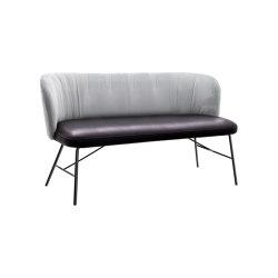 GAIA CASUAL 2 seater bench | Sofas | KFF
