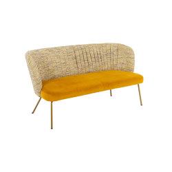 GAIA CASUAL LOUNGE 2 seater sofa | Canapés | KFF