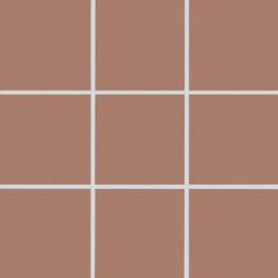 Plural | medium oxide red | Ceramic mosaics | AGROB BUCHTAL