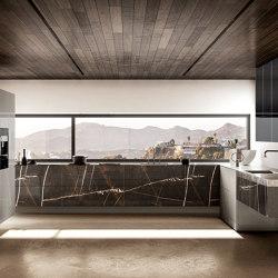36e8 Marble XGlass Kitchen - 1089 | Einbauküchen | LAGO