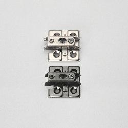 Heavy Duty Concealed Hinge J95 | J95 Mounting Plate | Cabinet hinges | Sugatsune