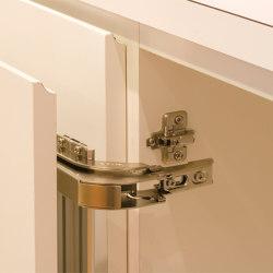 Monoflat LIN-X Hinge | LIN-X450, LIN-X600 | Cabinet hinges | Sugatsune