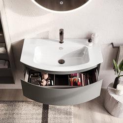 Way Round   02 furniture collection   Vanity units   Berloni Bagno