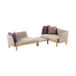Calypso lounge set 2 | Canapés | Royal Botania