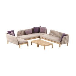 Calypso lounge set 6 | Canapés | Royal Botania