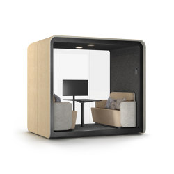 PodBooth Meeting with open front | Office Pods | Martela