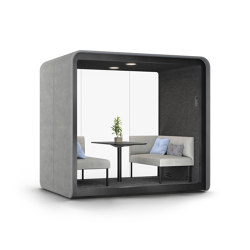 PodBooth Meeting with open front   Office Pods   Martela