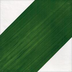 LR CO Dama Obliqua verde Positivo C   Ceramic tiles   La Riggiola
