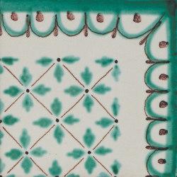LR CV Antico Vietri angolo vettica verde | Carrelage céramique | La Riggiola