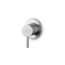 JEE-O slimline mixer 01 small | brushed | Shower controls | JEE-O