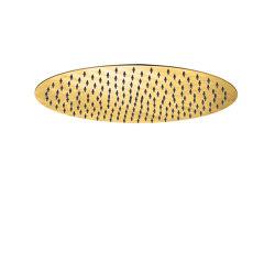JEE-O slimline shower head large | dark gold matt | Shower controls | JEE-O