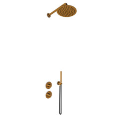 JEE-O slimline shower combination 01 | bronze | Shower controls | JEE-O